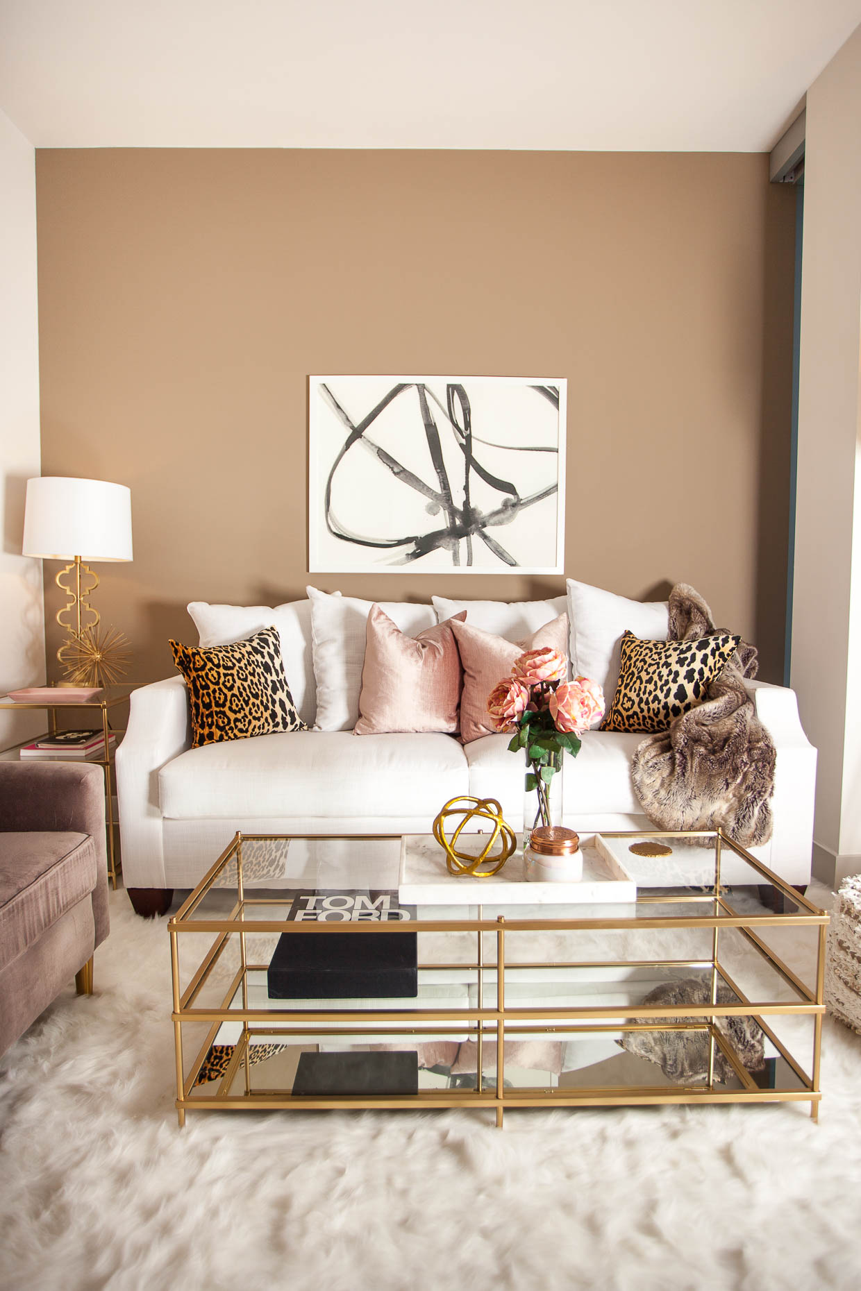 Le Living Room with Laurel  Wolf  The Darling Detail