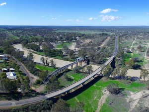 Bourke Bridge - The Darling River Run