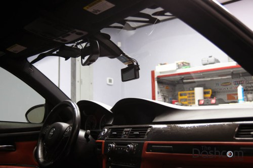 small resolution of  blackvue dr750lw 2ch front and rear dash cam installed in 2008 bmw 3 series e92