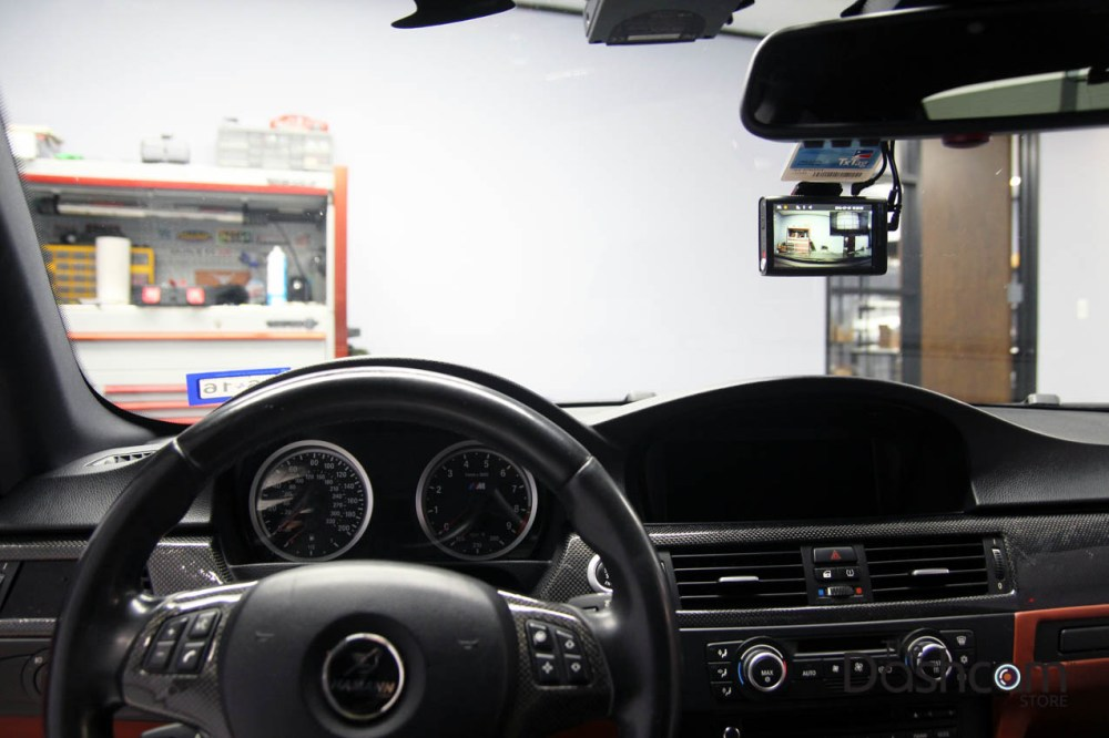 medium resolution of blackvue dr750lw 2ch front and rear dash cam installed in 2008 bmw 3 series e92