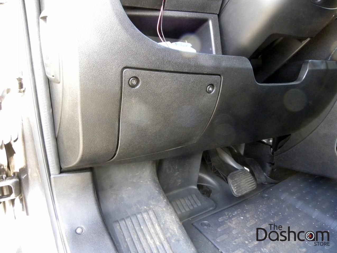 hight resolution of blackvue dr650gw 2ch dash cam installation 2015 dodge ram promaster 2500 the interior fuse box