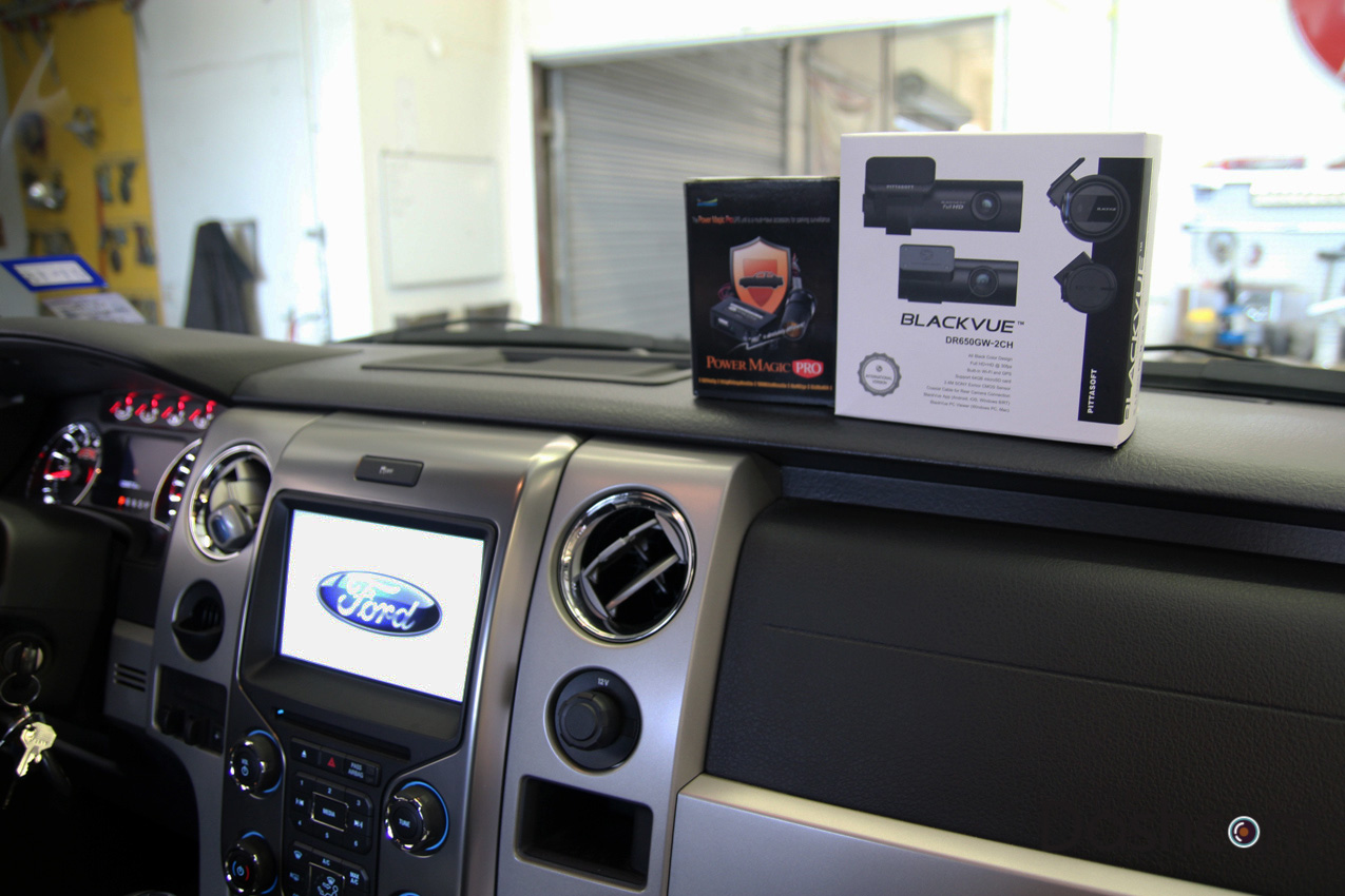 hight resolution of  blackvue dr650gw 2ch dashcam installation 2013 ford f150