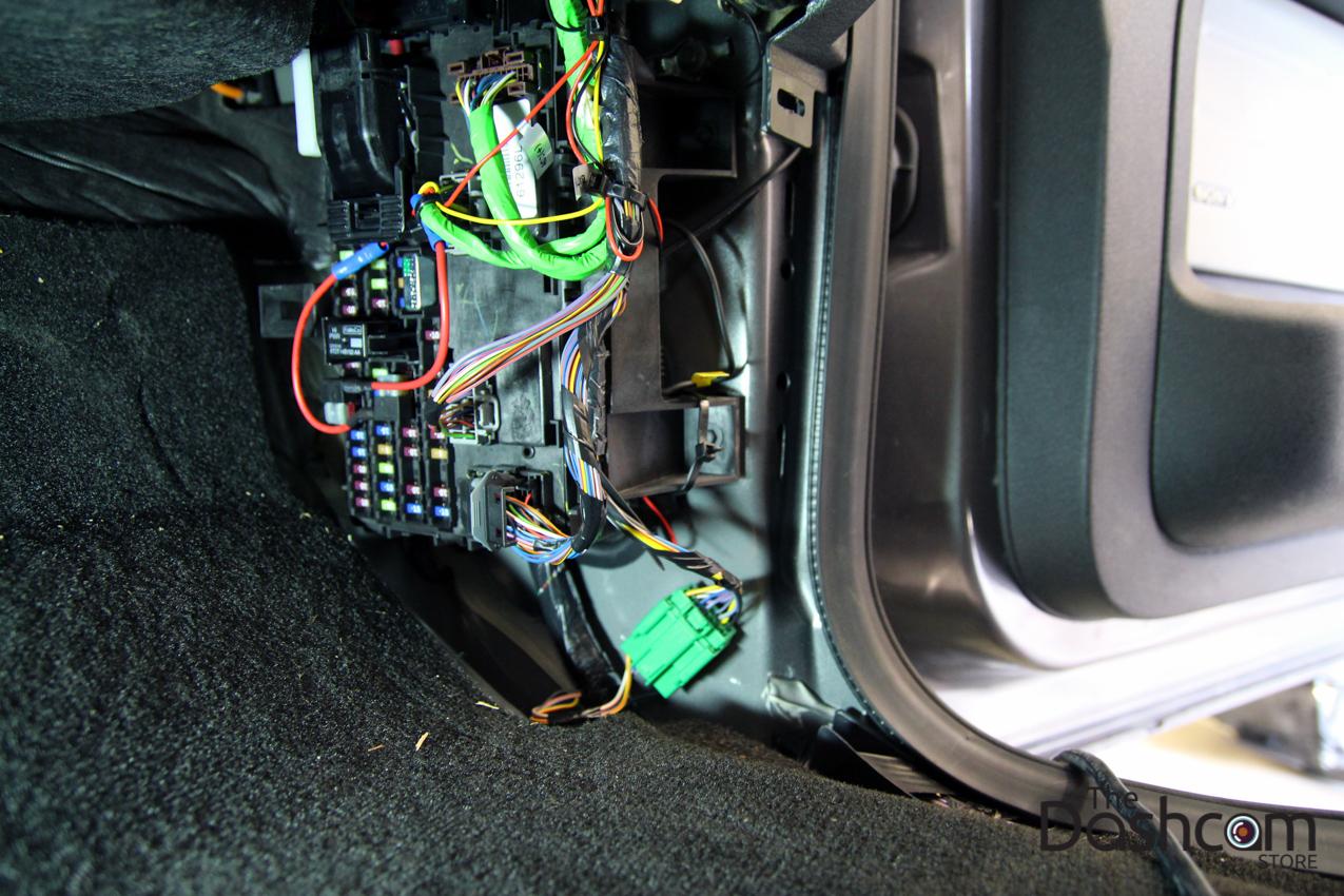 hight resolution of blackvue dr650gw 2ch dashcam installation 2013 ford f150