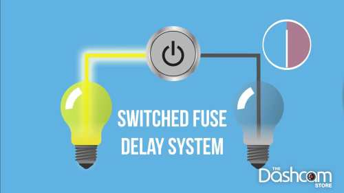 small resolution of switched fuse delay systems keeps switched fuse circuits on for up to 30 minutes after