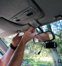 dashcam installation how to run power cable [ 1275 x 850 Pixel ]