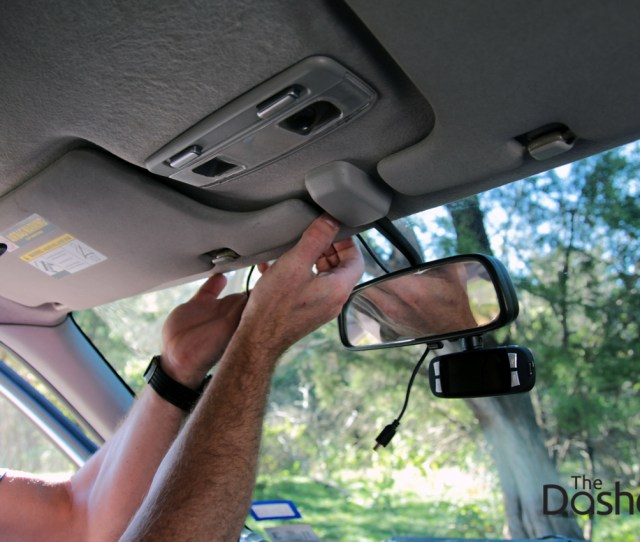 Dashcam Installation How To Run Power Cable