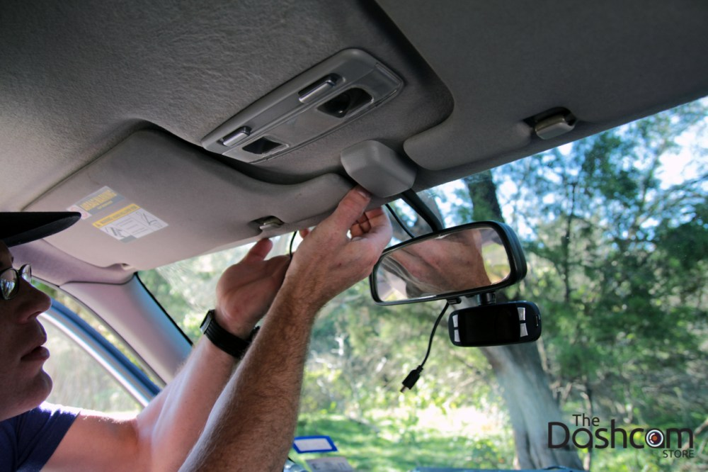 medium resolution of dashcam installation how to run power cable