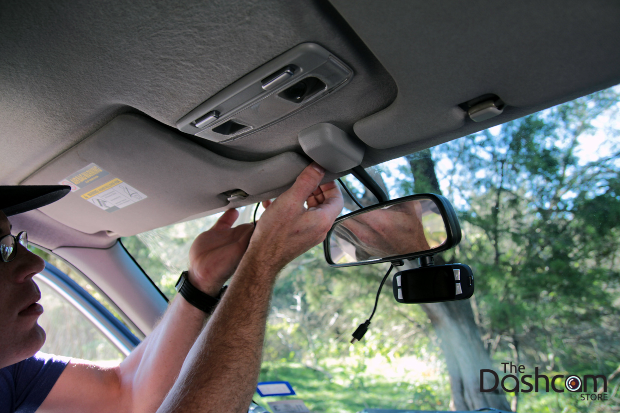 hight resolution of dashcam installation how to run power cable