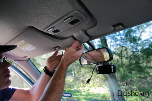 small resolution of dashcam installation how to run power cable