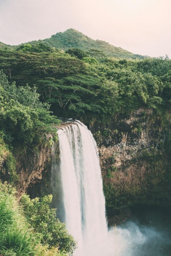 Waterfalls Kauai Hawaii Beaches
