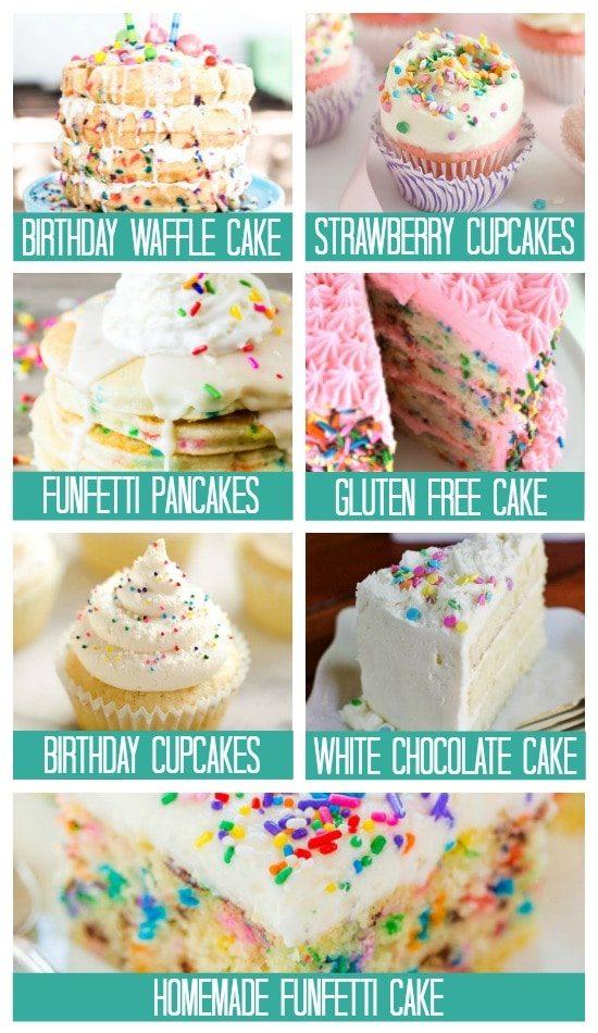 Cake Ideas Birthday Treats