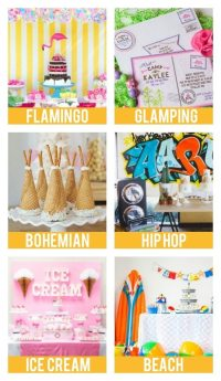 95+ Party Themes For Teenage Girls - Birthday Themes For ...