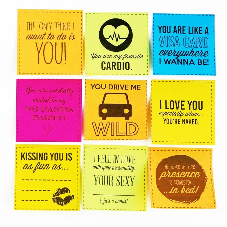 Sexy Sticky Notes For Your Spouse From The Dating Divas
