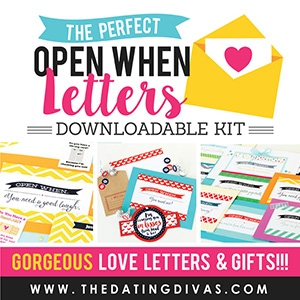 The Dating Divas Open When Letters