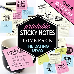 sexy sticky notes for your spouse