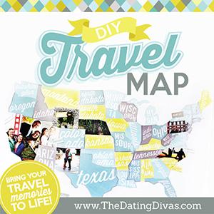 travel memories map