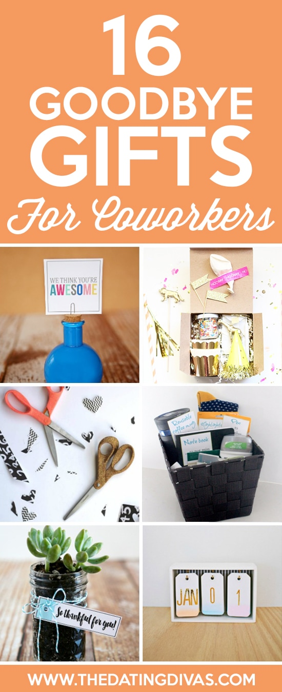 101 Cheap & Easy Goodbye Gifts - The Dating Divas