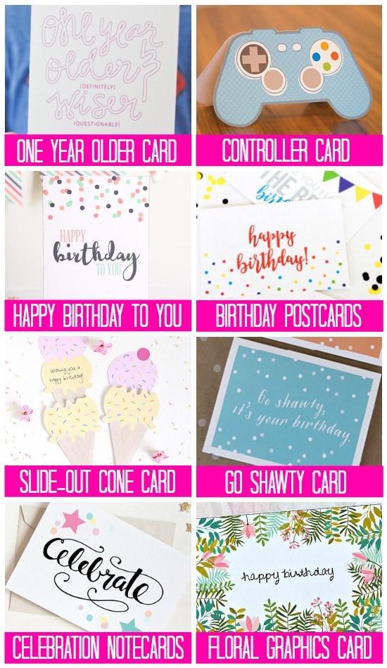 Free Printable Birthday Reminder Cards Poemview