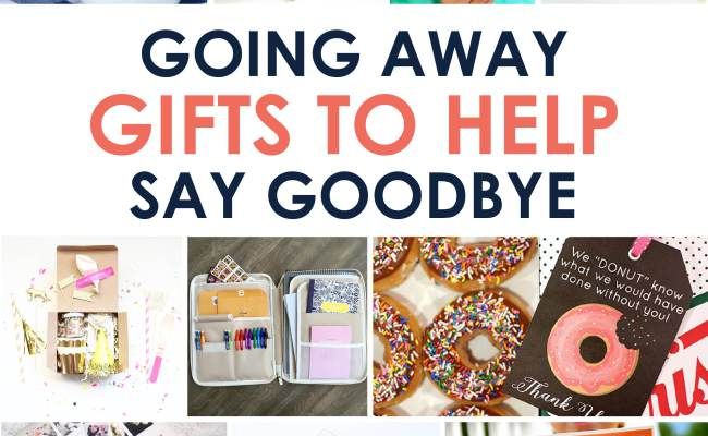 Going Away Gifts To Help Say Goodbye The Dating Divas