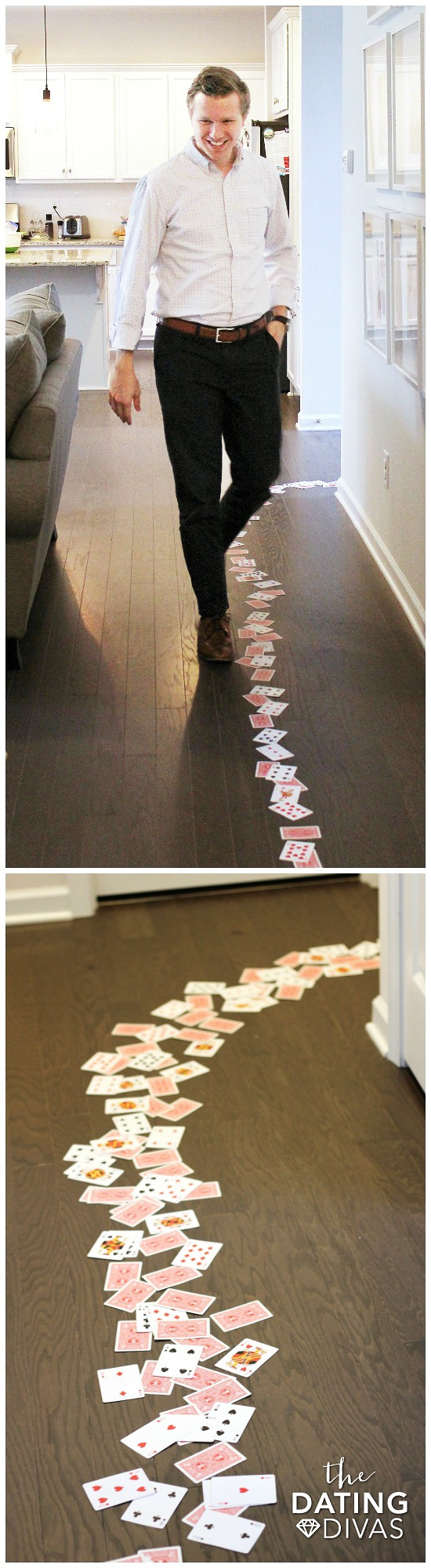 Sexy Cards Trail Bedroom Idea