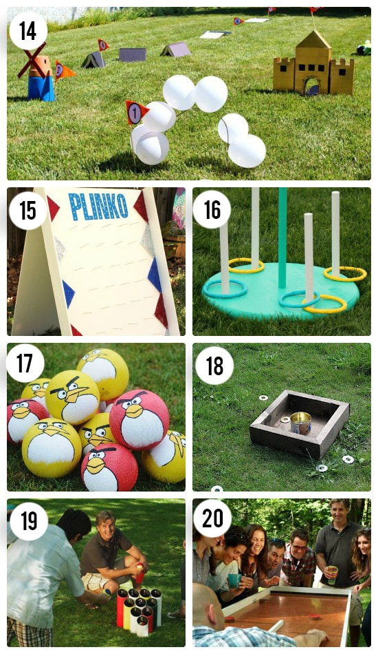 Family Outdoor Games Play