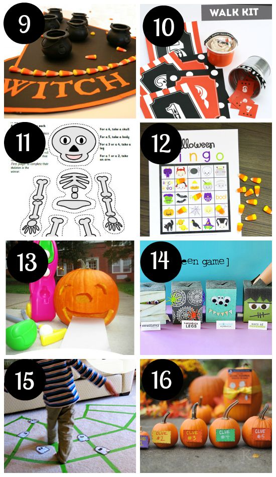 66 halloween games for