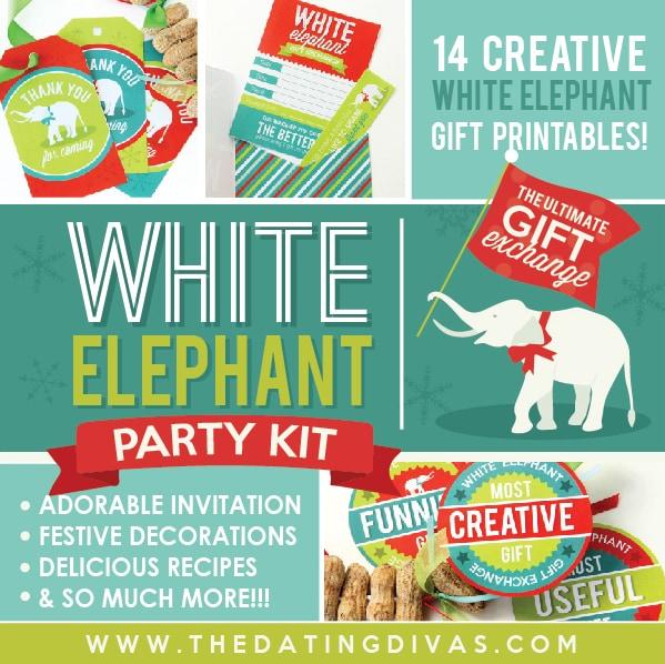 50 fun white elephant
