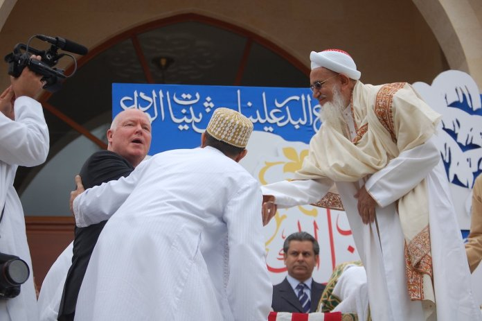 His Holiness during his visit to The United States of America