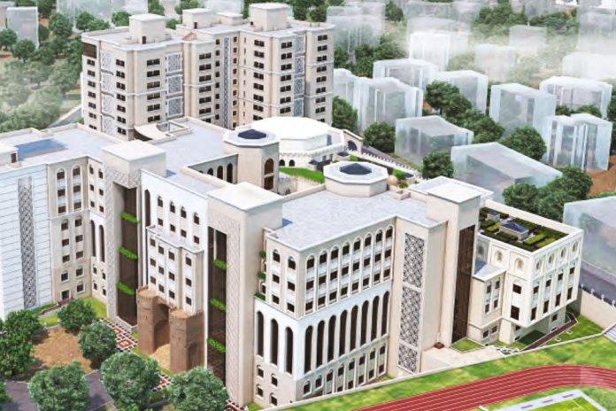 Aljamea-tus-Saifiyah Marol Campus (Render)