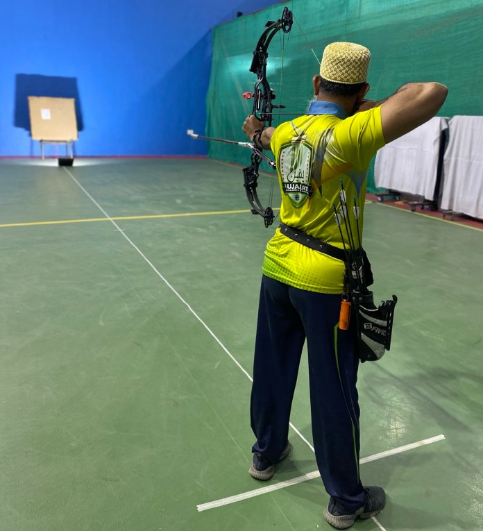 Mustafa Barodawala Wins Silver in Online Archery Competition