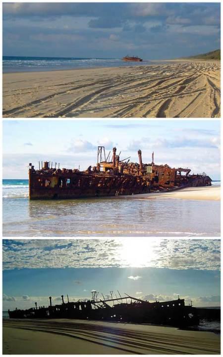 Moheno Boat Fraser Island