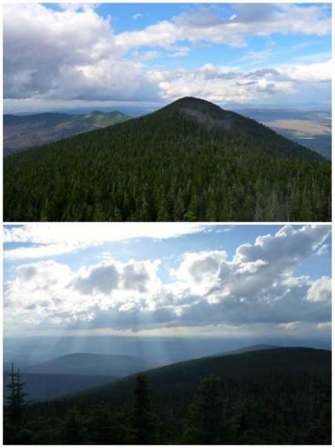 Mont Megantic vue