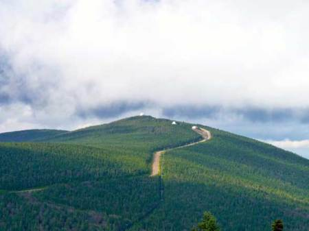 Mont Mégantic Québec