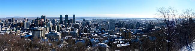Montreal sous la neige ok