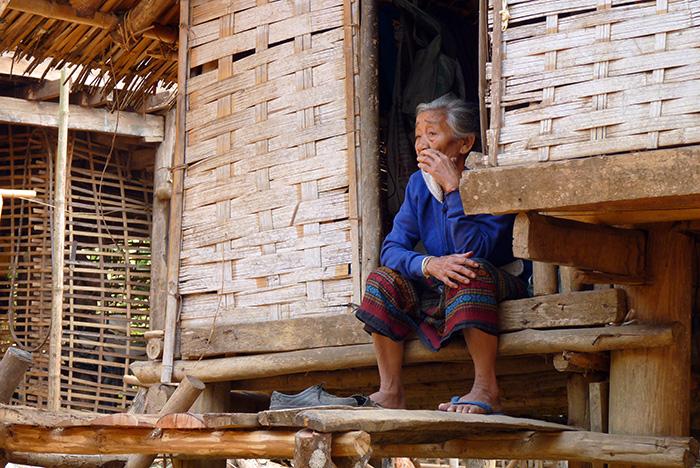 Laos Village ethnique