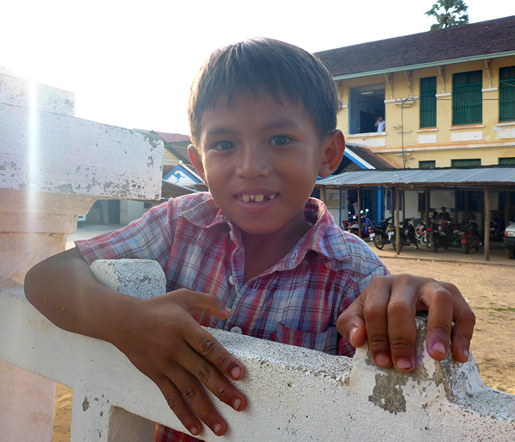Enfant Cambodge