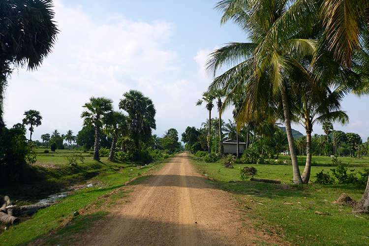 Paysages Kep Cambodge