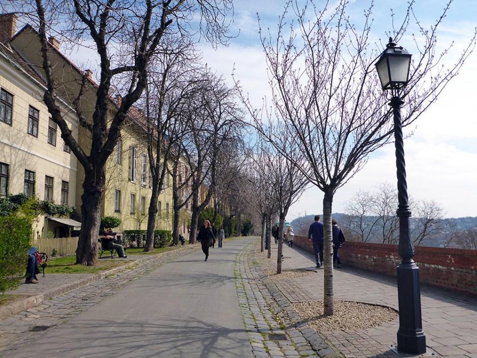 Quartier du château de Budapest