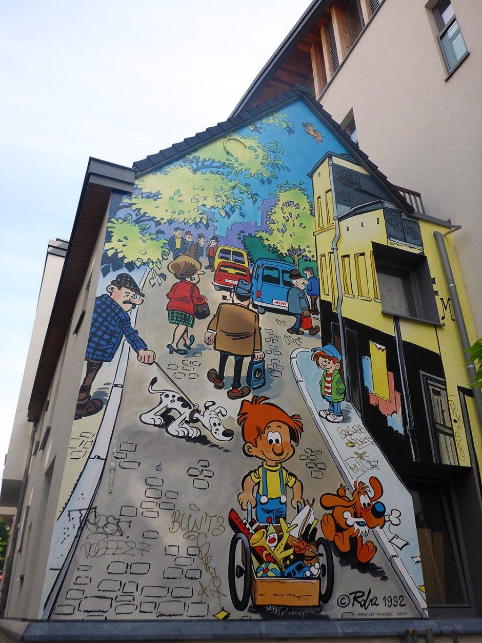 BD et Street Art à Bruxelles : Boule et Bill