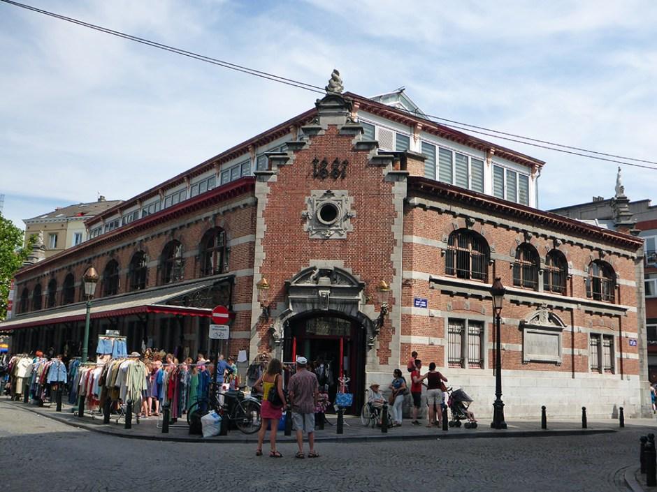 Marché vintage Bruxelles