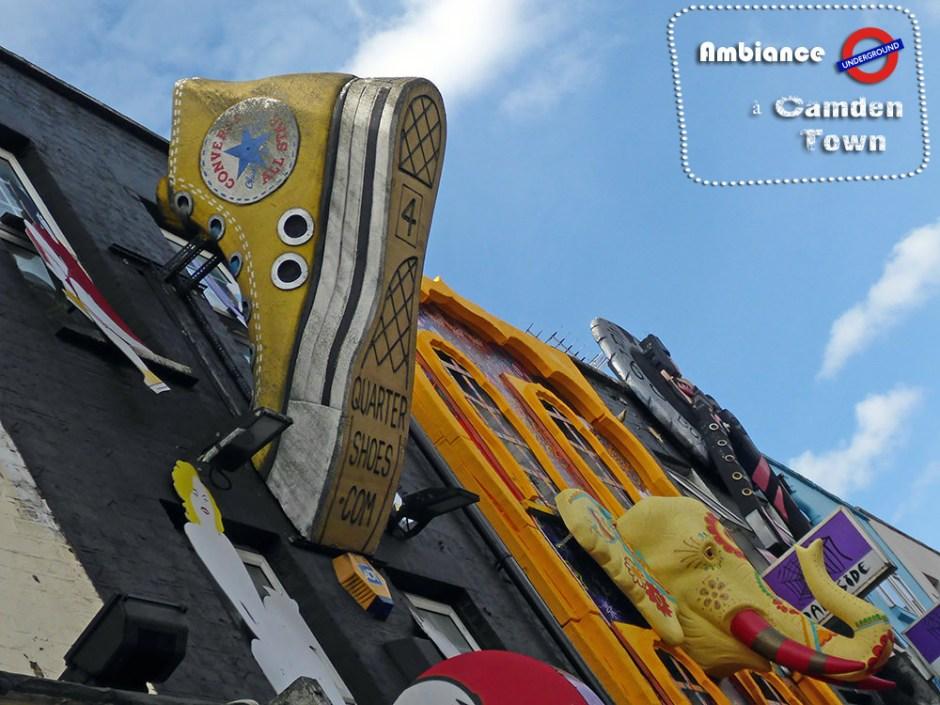 Converse géante sur Camden Town - Londres