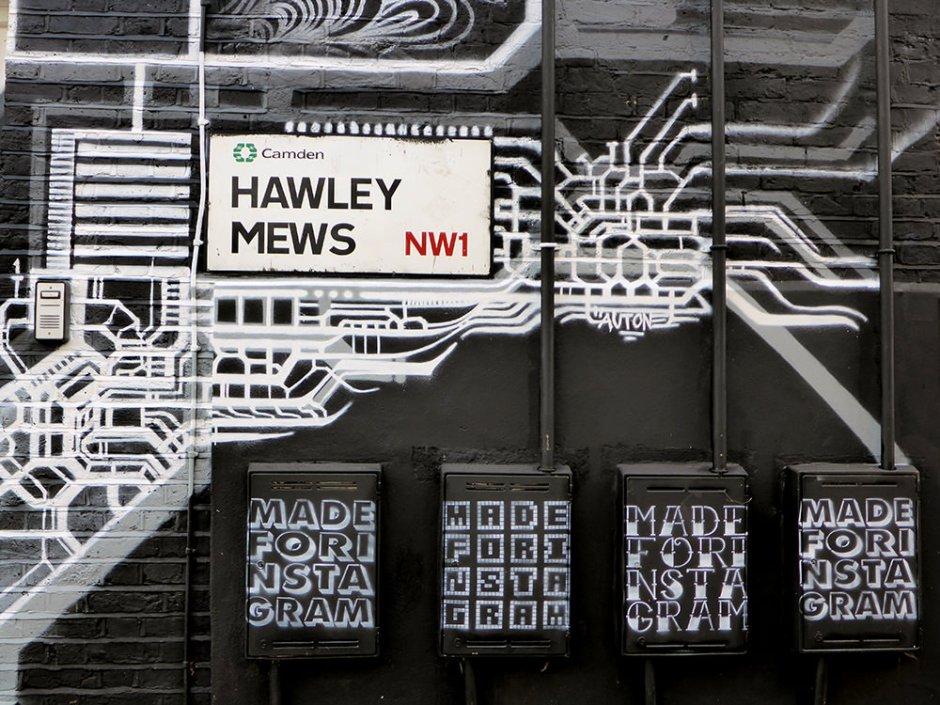 Week-end à Londres : Street art à Camden Town