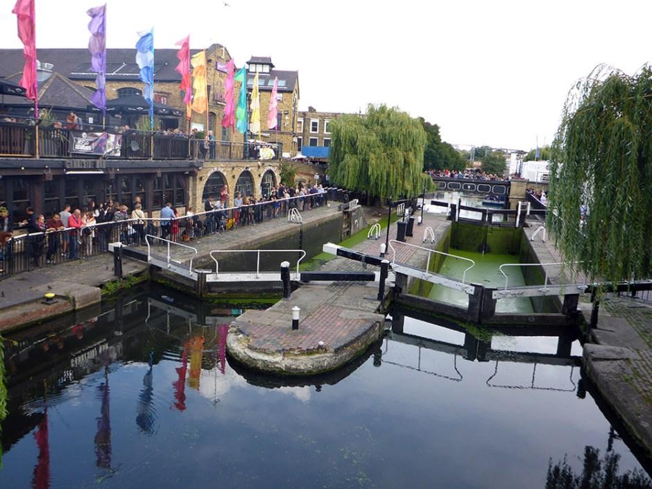 Camden Market près de Regent's Canal - Londres