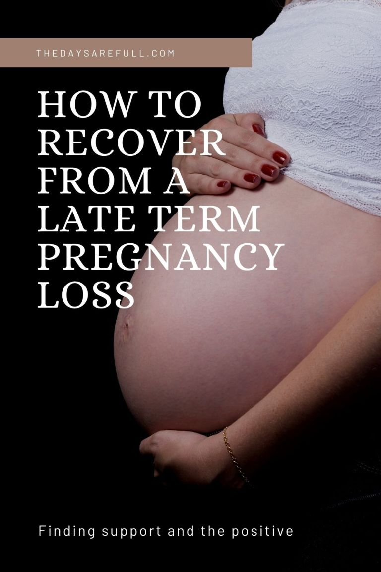 how to deal with pregnancy loss
