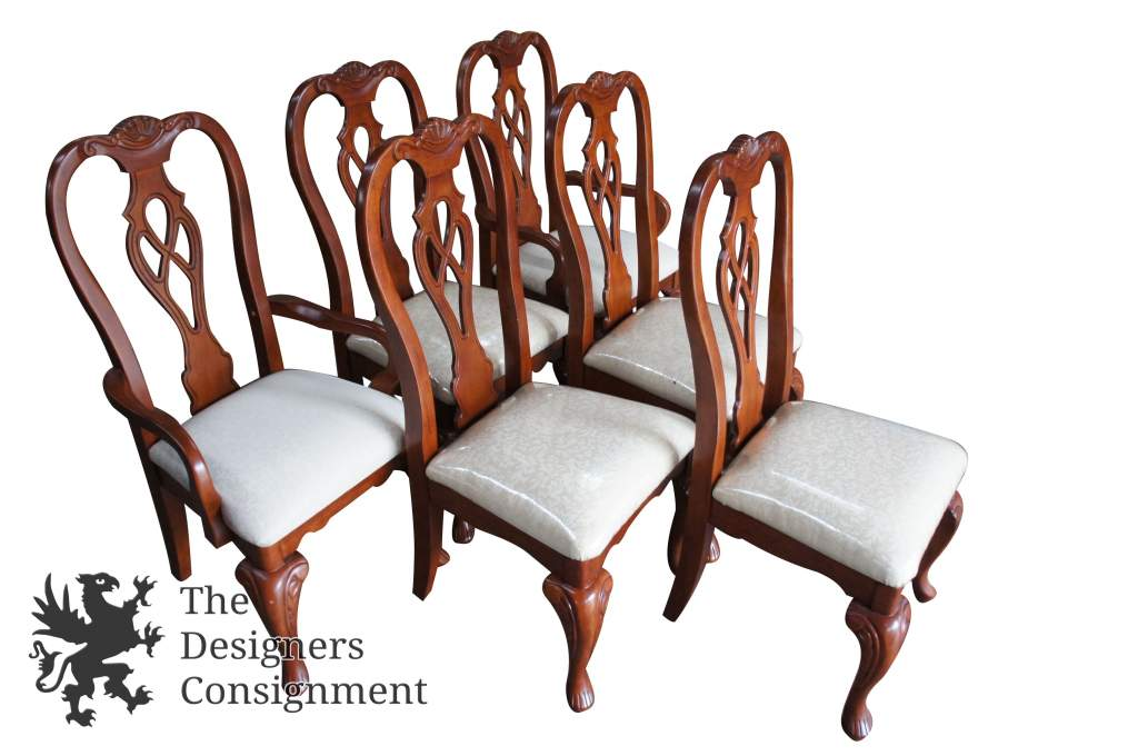 pembrook chair corp armchair cover diy the designers consignment dayton s premier gallery 2 glory oceanic chippendale style dining chairs pierced back carbiole legs vtg