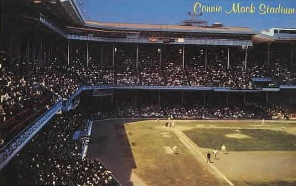 Connie Mack Stadium, built 1909
