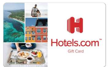 Hotels Gift Card