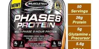 MuscleTech Phase8 Whey Protein Powder