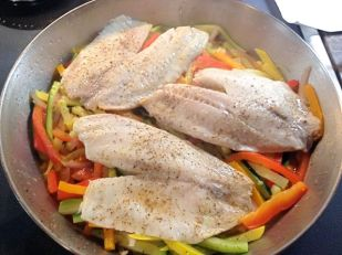 Cooked Tilapia