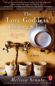The Love Goddess' Cooking School Book Cover